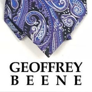 Geoffrey Beene Necktie 100% Silk Tie Parsley